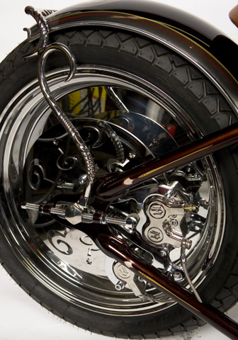 When Push Comes To Shove Indian Larry Motorcycles