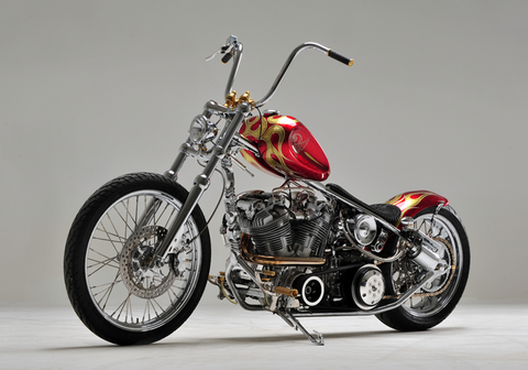 Bloody Knuckle Indian Larry Motorcycles