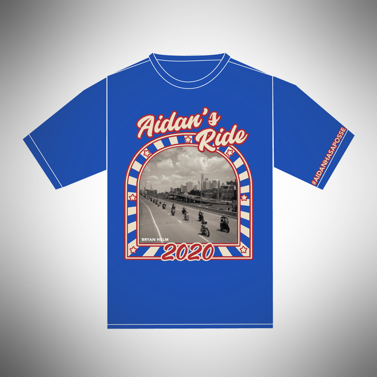 Aidan's Ride 2020 Kids' T-Shirt