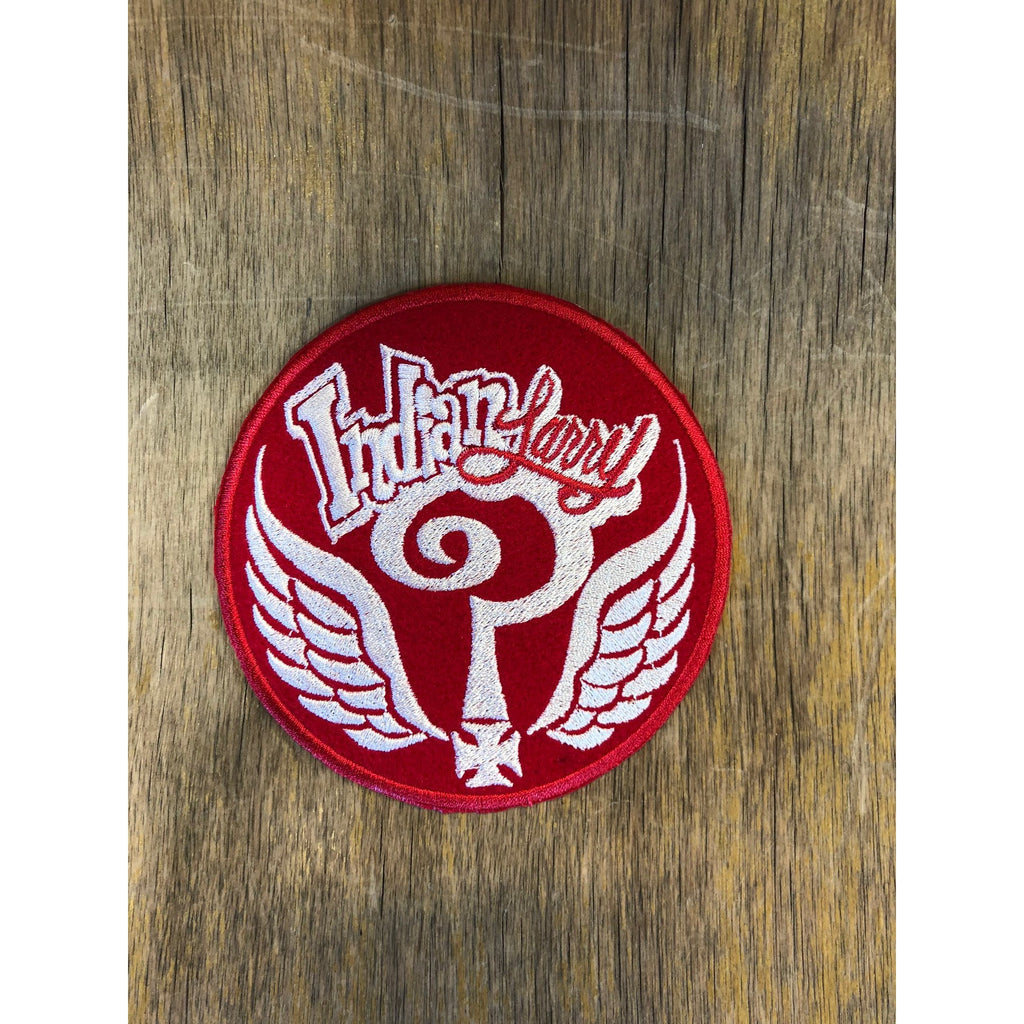 Indian Larry Round Patch