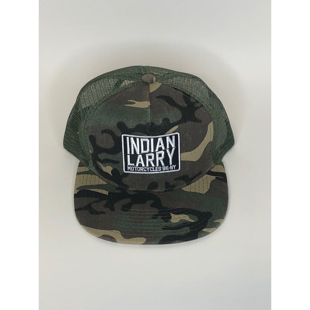 Slant Patch Camo Trucker Hat