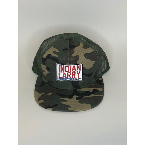 Camo Trucker Cap with Patch