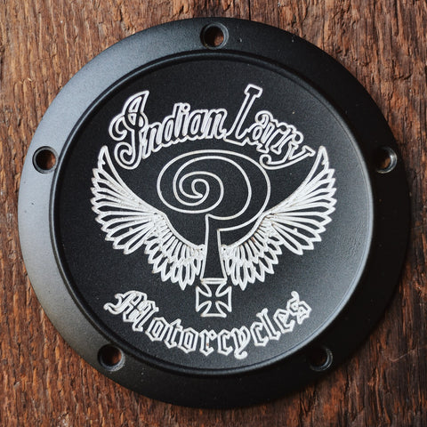 Indian Larry Logo Derby Cover