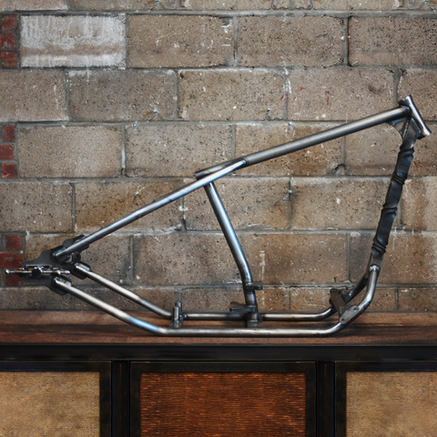 Twisted Down Tube Frame
