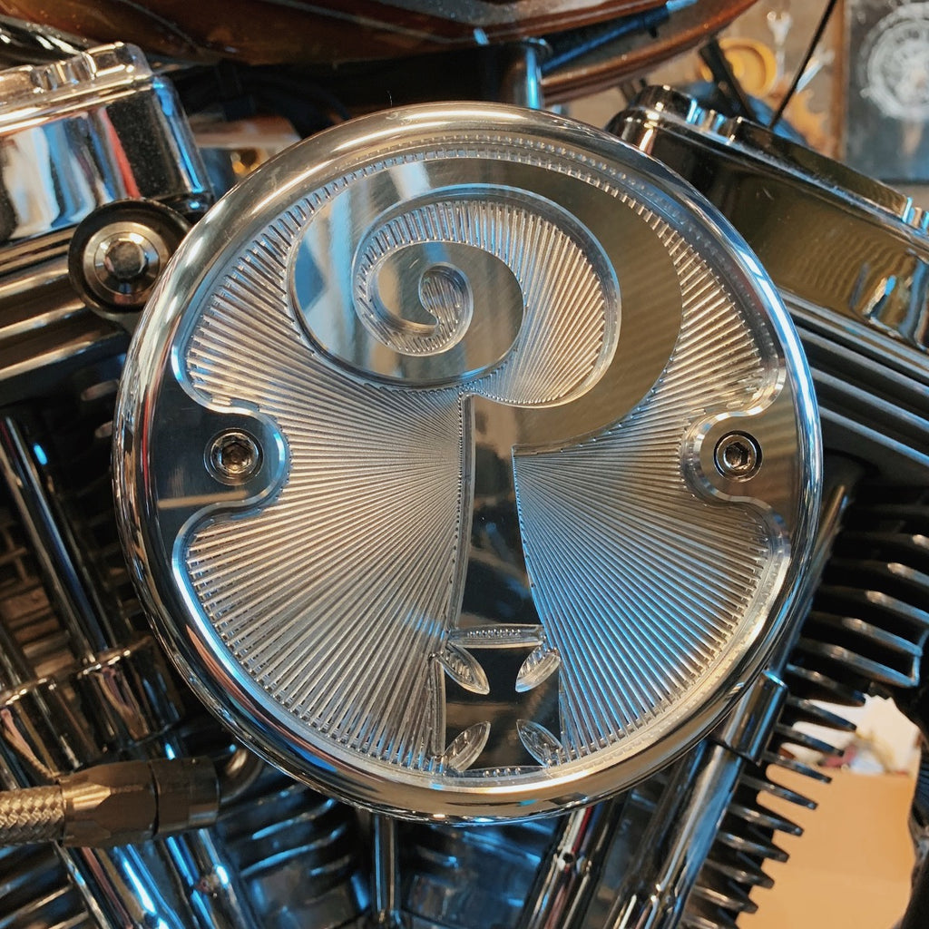 *NEW* Indian Larry Air Cleaner Cover - Aluminum