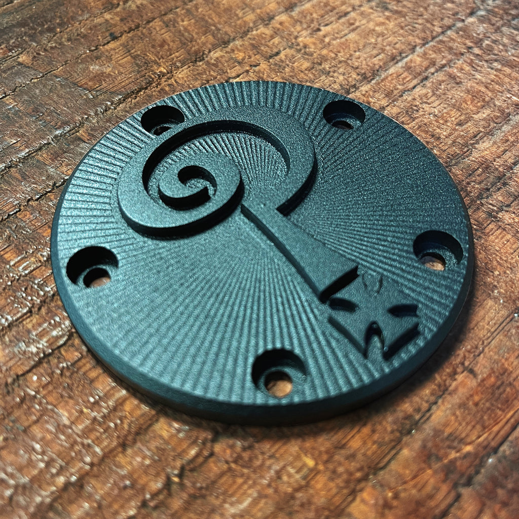 *NEW* Indian Larry 3D Points Cover - Matte Black