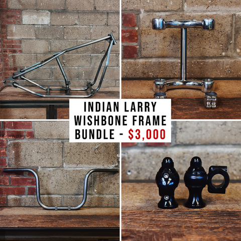 *LIMITED-TIME OFFER* Indian Larry Wishbone Frame Bundle