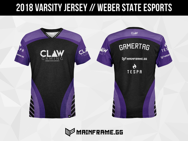 Claw Official Esports Jersey for Utah Collegiate Esports Scene
