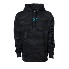 XFactor Logo Heavyweight Hooded Pullover Sweatshirt