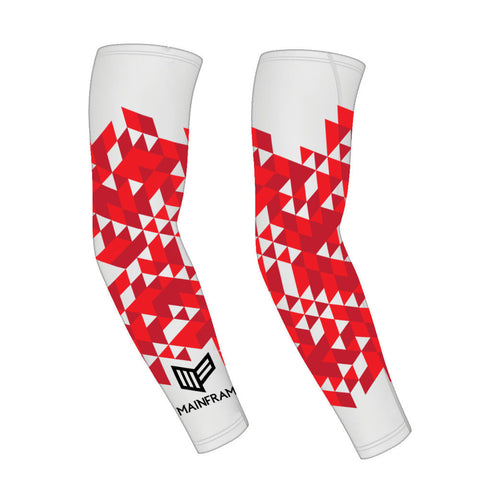 Red Prizm Gaming Compression Sleeve Video Gaming Streetwear & Esport Clothing