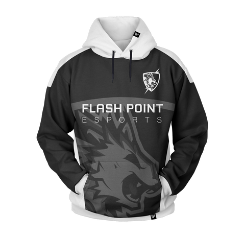 Flash Point Esports Gaming PRO Pull Over Hoodie Sweater Mainframe USA