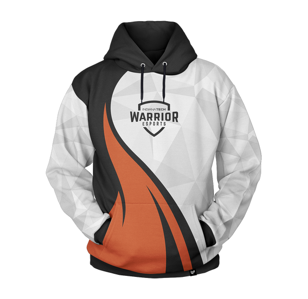 INDIANA TECH Esports Gaming PRO Pull Over Hoodie Sweater Mainframe USA