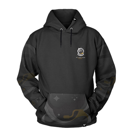 Spacestation Gaming INTERMISSION Pull Over Hoodie Video Gaming Streetwear & Esport Clothing