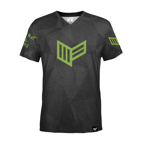 PRO Armour Grey S/S Gaming Jersey Jersey Mainframe USA