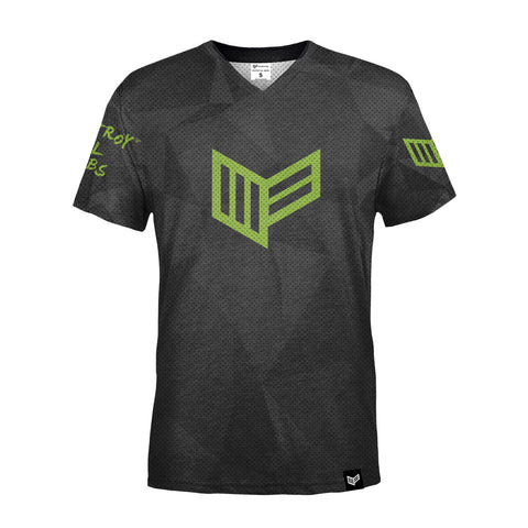 PRO Armour Grey S/S Gaming Jersey Gaming Streetwear & Esport Clothing