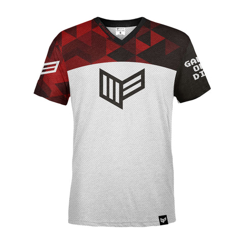 PRO Red Cell S/S Gaming Jersey Gaming Streetwear & Esport Clothing