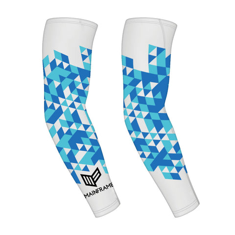 Blue Prizm Gaming PRO Compression Sleeve Video Gaming Streetwear & Esport Clothing