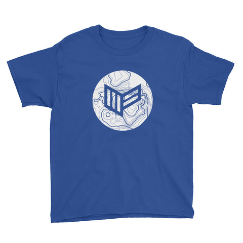 Topo Royal Blue Youth S/S T-Shirt Video Gaming Streetwear & Esport Clothing