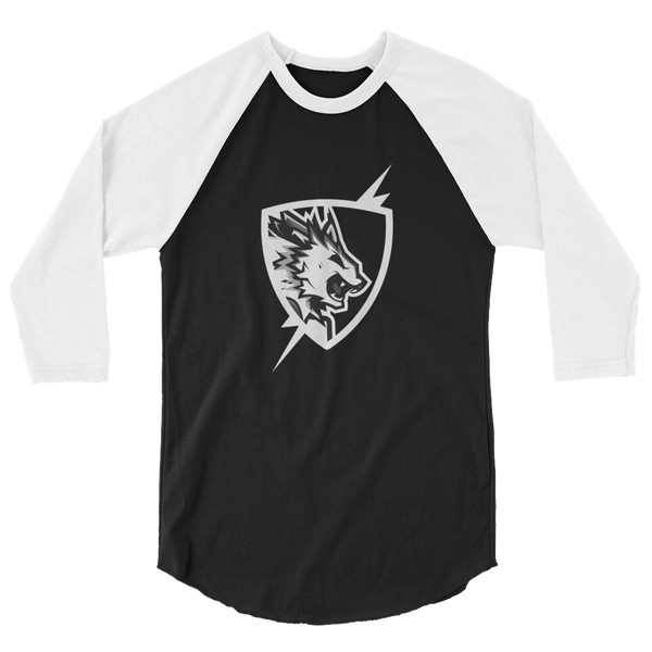 Flash Point Esports BOLT 3/4 sleeve Mens Raglan Shirt Video Gaming Streetwear & Esport Clothing