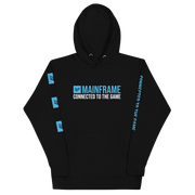 Connected to the Game Unisex Hoodie  Mainframe USA