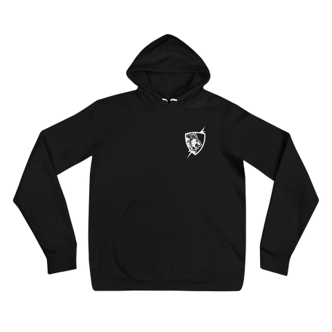 Flash Point Esports Classic Black Fleece Hoodie  Mainframe USA
