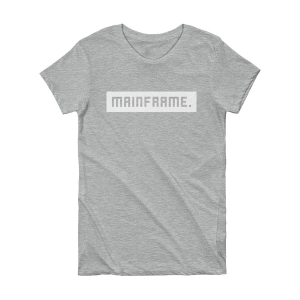 Balanced Women's Heather Grey T-shirt Video Gaming Streetwear & Esport Clothing