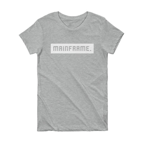 Balanced Women's Heather Grey T-shirt T-Shirt Mainframe USA