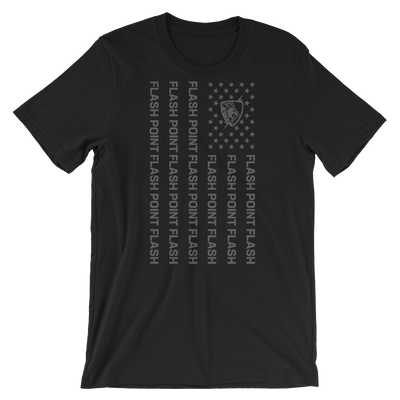 Flash Point Esports FLAG S/S Black T-Shirt T-Shirt Mainframe USA