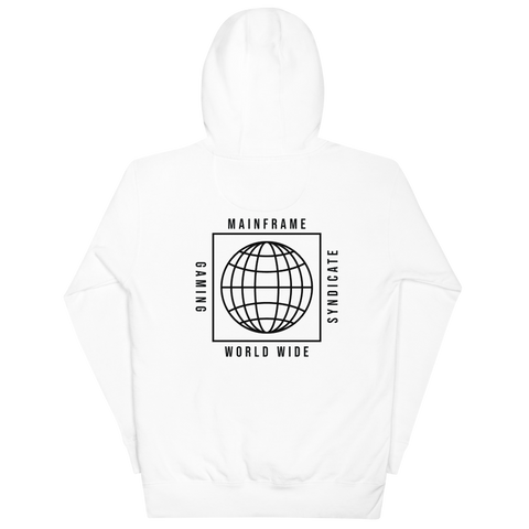 Worldwide Pull Over Hoodie  Mainframe USA