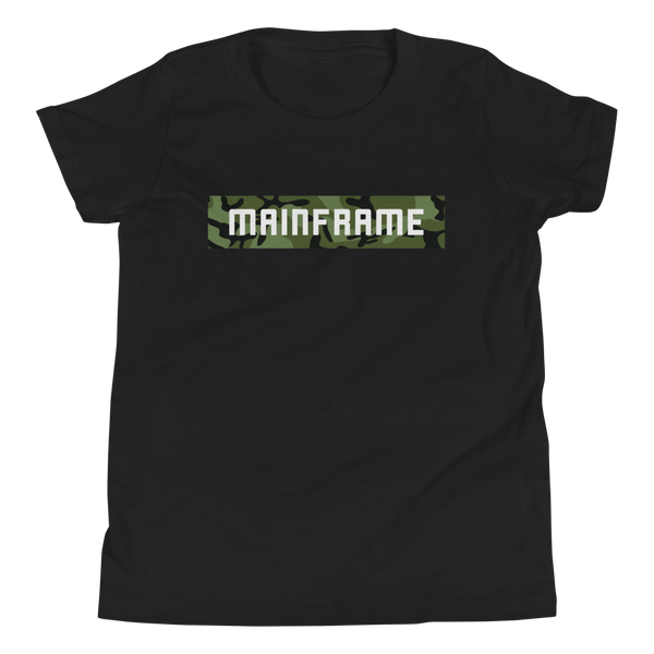 Camoblock Short-Sleeve Youth T-Shirt  Mainframe USA
