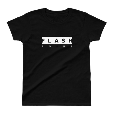 Flash Point Esports BLOCKED Womens Black S/S T-Shirt  Mainframe USA