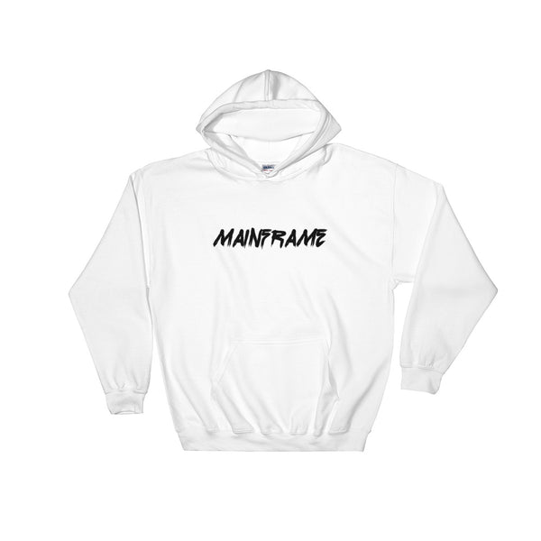 Destroyer Mens White Hooded Sweatshirt Hoodie Mainframe USA