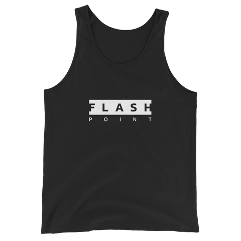 Flash Point Esports BLOCKED Unisex Black Tank Top  Mainframe USA