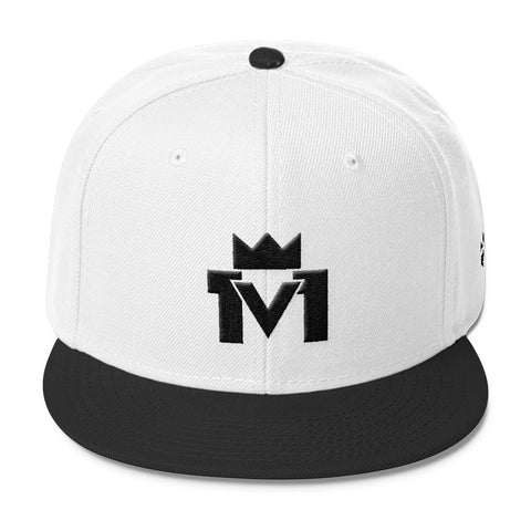 1v1 King Wool Blend Snapback Hat Mainframe USA