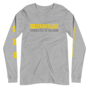 Connected To The Game Unisex Long Sleeve Tee  Mainframe USA