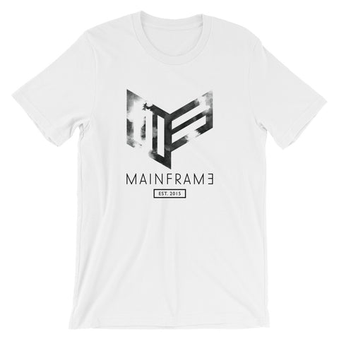 Faded Mens White T-Shirt T-Shirt Mainframe USA