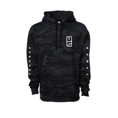 unCAGED Logo Heavyweight Hooded Pullover Sweatshirt