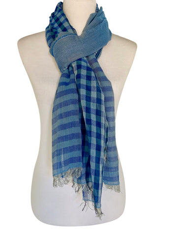 'Cielo Scarf in Blue'