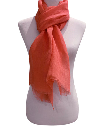 'Amore Scarf in Coral'