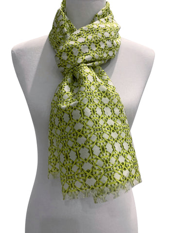 'Thonet Scarf in Lime'
