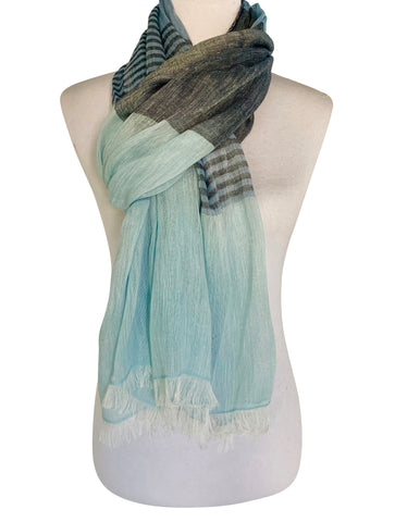 'Onda Scarf in Blue'