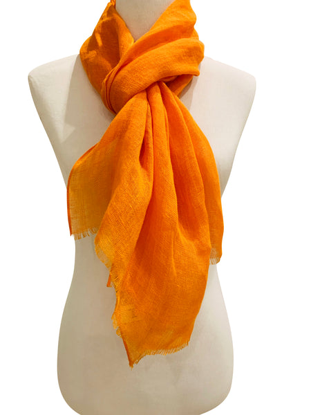 'Amore Scarf in Tangerine'