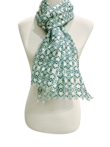 'Thonet Scarf in Turquoise'