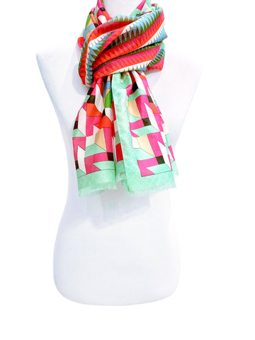 'Festivity-Multi-Color Scarf'