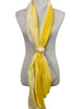 'Daffodil Ombre' Cotton/Silk Scarf