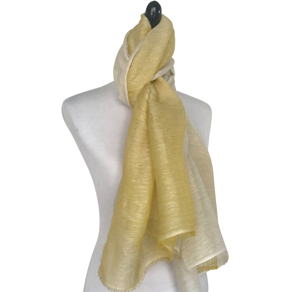 'Paradiso Scarf in Lemon'