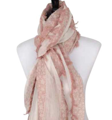 'Stella Dusty Rose Scarf'