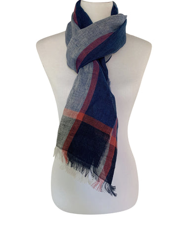 'Amalfi Scarf in Blue'