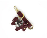 Horse Key-Chain //bordeaux