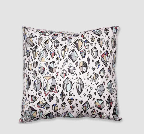 Throw Pillow / Crystal